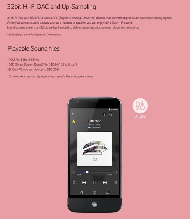 LG Hi-Hi Plus with B&O Play