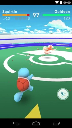 Typical 1 on 1 gym battle