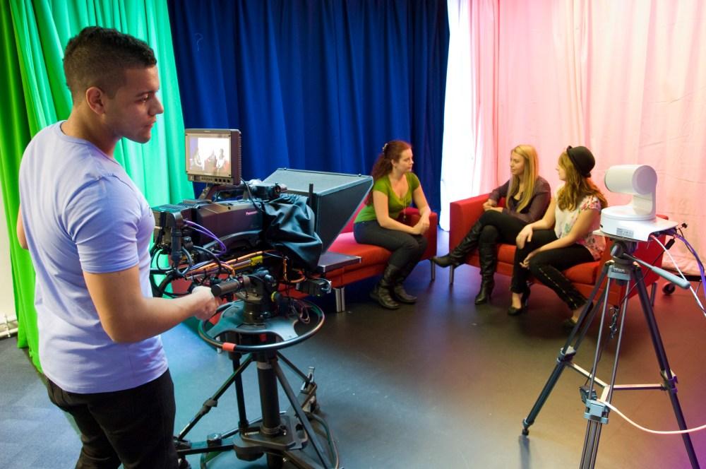 TV studio at UWE
