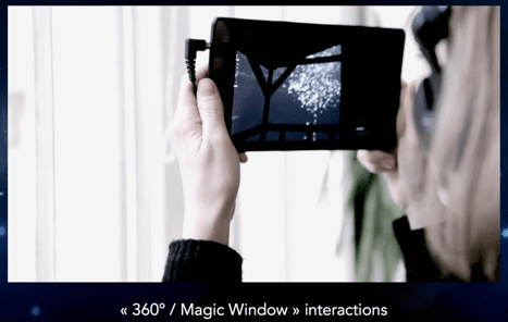 fig.8 magic views interactions