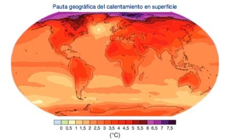 Aumento Temperatura 2099