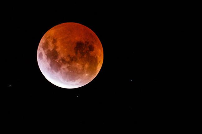 El Eclipse De Superluna De Esta Noche | MEJOR CONJUNTO DE FRASES