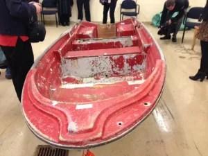 Phillip Boudreau's boat