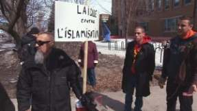 Anti-Muslim extremism demo