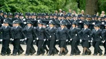 Police in the U.K. have been lured to Canada with the promise of better pay and a higher standard of living.