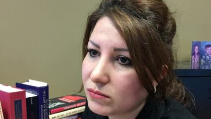 Bahareh Esfand came to Canada from Iran as the wife of a political refugee. Citizenship and Immigration Canada is trying to take away her permanent resident status because of a trip back to Iran to visit her mother.