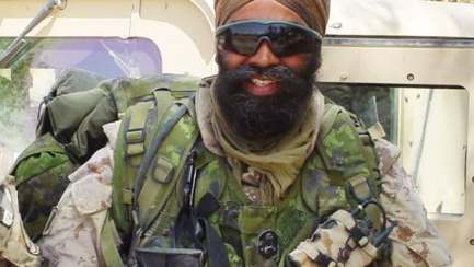 Harjit Sajjan, Canada's new defence minister, was a lieutenant-colonel in the Canadian Armed Forces and a Vancouver police gang crime unit detective.
