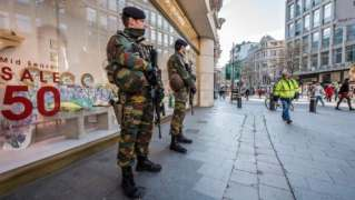 Belgium tightens security after driver tries to ram shopping area