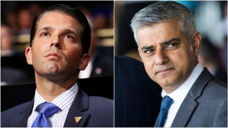 Donald Trump Jr. called a 'disgrace' for slamming London Mayor Sadiq Khan after attack