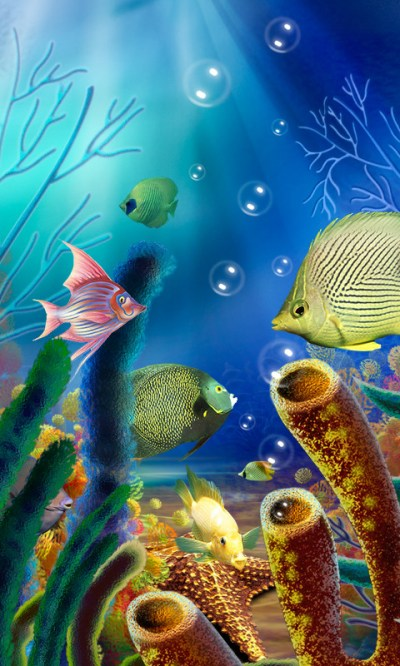 Aquarium Live Wallpaper (free) Free Android Live Wallpaper download - Appraw