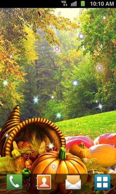 Thanksgiving Live Wallpaper Free Android Live Wallpaper ...