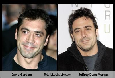 JavierBardem Totally Looks Like Jeffrey Dean Morgan   Memebase     javier bardem Jeffrey Dean Morgan   1465715968