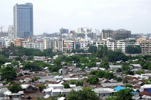 The Bangladeshi capital Dhaka: China and India are competing for influence in the country