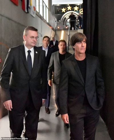Germany coach Joachim Loew to stay through 2022 World Cup | Daily Mail Online