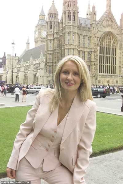Esther McVey tells Tory conference she spent time growing up in care | Daily Mail Online