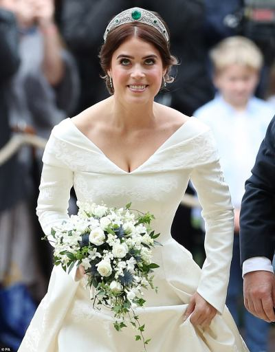 Princess Eugenie looks resplendent in first official pictures of her spectacular wedding | Daily ...
