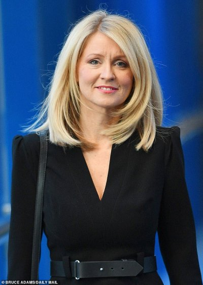 'All she knows is how to blow dry her hair': Treasury attack on welfare chief Esther McVey ...