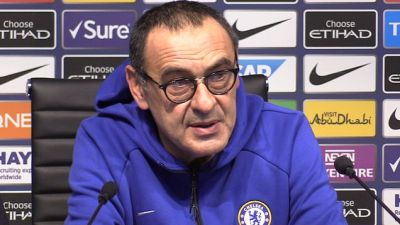 Sarri says he's 'at risk' of losing his job, after City thrashing | Metro Video