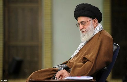 Iranian supreme leader Ayatollah Ali Khamenei and other leaders in Tehran celebrated the 40th anniversary of the Islamic Revolution on Monday with new threats against Israel