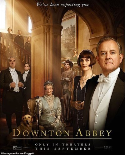 Joanne Froggatt reveals new Downton Abbey movie poster for hotly-anticipated film | Daily Mail ...