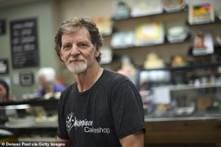 Meanwhile, Phillips, the owner of Masterpiece Cake Shop in Colorado, has had another lawsuit brought against him. Transgender woman Autumn Scardina filed a court documents earlier this month accusing him of refusing to make her gender transition cake. It comes after the Supreme Court ruled in the baker's favor last year after he was sued for refusing to make a wedding cake for a same-sex couple.