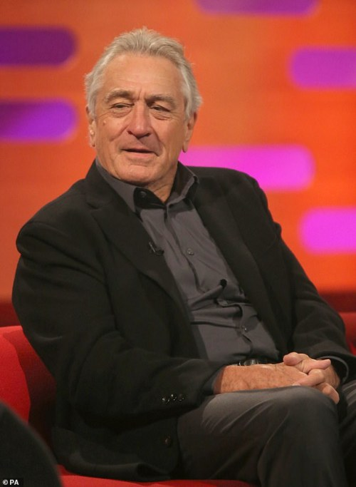 Icon: Robert has had a career in the film industry spanning more than fifty years