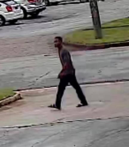 Hatchett was seen on surveillance footage walking up to the Auto Zone store in Columbus