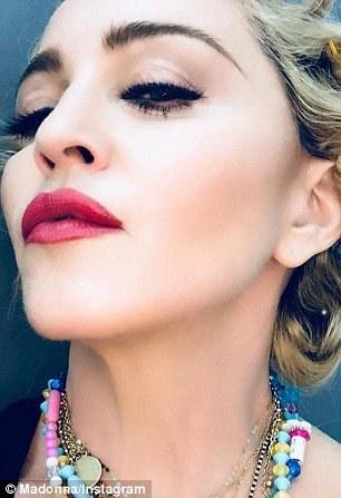 Madonna enjoys night out after posting filtered selfie on Instagram | Daily Mail Online