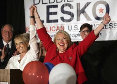 Republican Debbie Lesko wins Arizona special election by narrow margin   Daily Mail Online