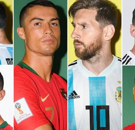 Lionel Messi v Cristiano Ronaldo at World Cups: How they compare
