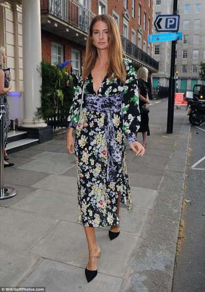 Millie Mackintosh steps out at Budweiser World Cup boat party | Daily Mail Online