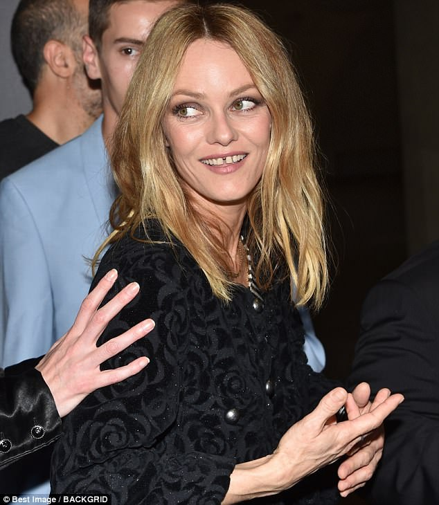 Johnny Depp s ex Vanessa Paradis attends film premiere in Paris     Timeless beauty  Age is nothing but a number for 45 year old Vanessa