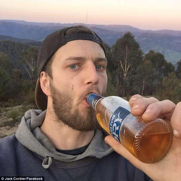 Jack Corbier killed his mate after a split second decision to drive     Jack Corbier  22   pictured  a plasterer from the area  had been