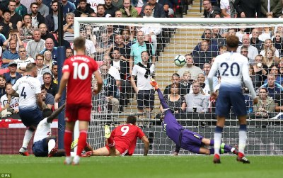 Tottenham 3-1 Fulham: Kane scores his first Premier League goal in August   Daily Mail Online