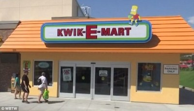 Real-life Kwik-E-Mart store from The Simpsons opens in ...