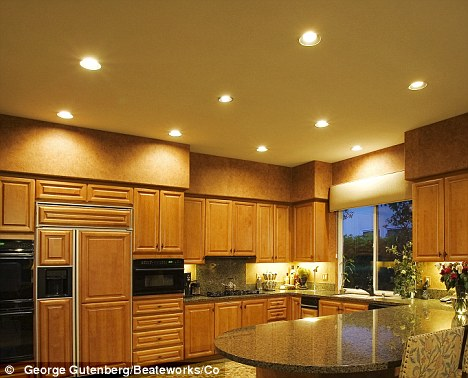 Thing Of The Past Illuminated Spotlights Often Put In Kitchens Are  Home Design Resume CV Cover Leter