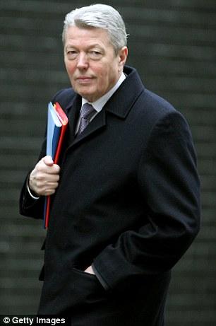 Home Secretary Alan Johnson