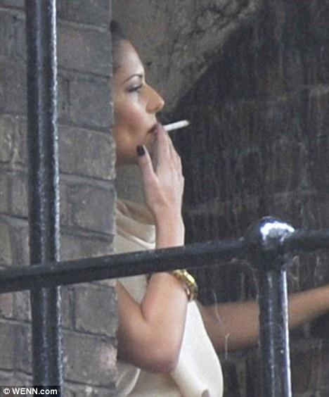 jennifer taylor smoking cigarettes