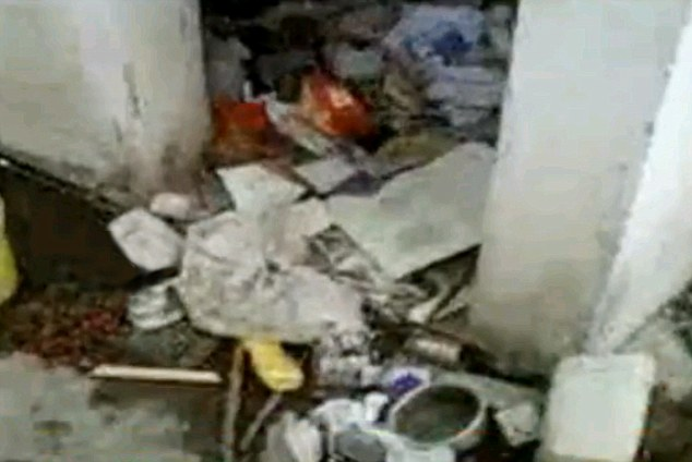 Squalid: It seems hard to believe the mastermind of 9-11 and countless other terrorist atrocities lived in such conditions