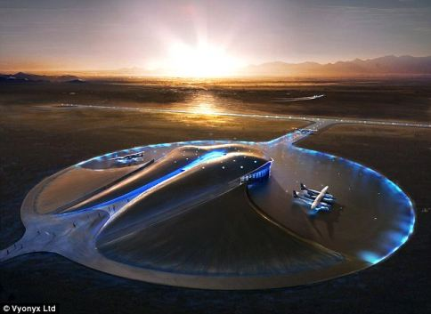 Flight of fancy? Spaceport America is billed as the world's first purpose-built commercial spaceport