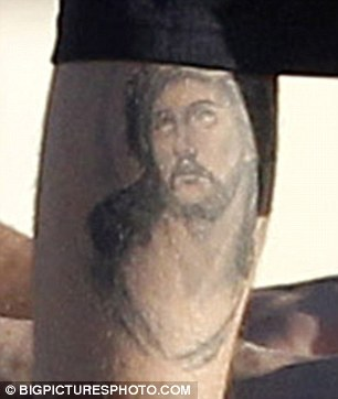 Inspiration: Bieber's latest inking is based on the image of Jesus called Ecce Homo dating back to 1610 by artist Rubens