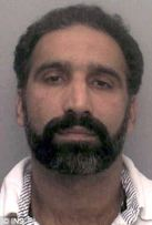 Disgraced policeman Mohammed Younis: He has been jailed for 18 years