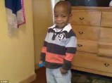 Victim: Six-year-old Khalil Wimes was beaten and starved to death by his parents after being returned to their care