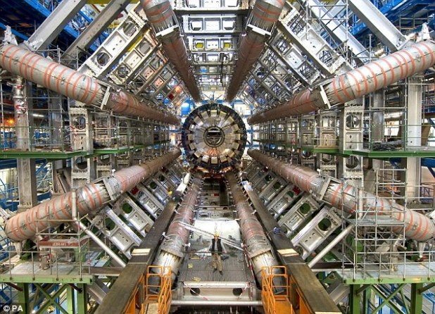 Inside: The giant project is the most enormous piece of scientific apparatus ever constructed, and is buried 100m beneath the ground