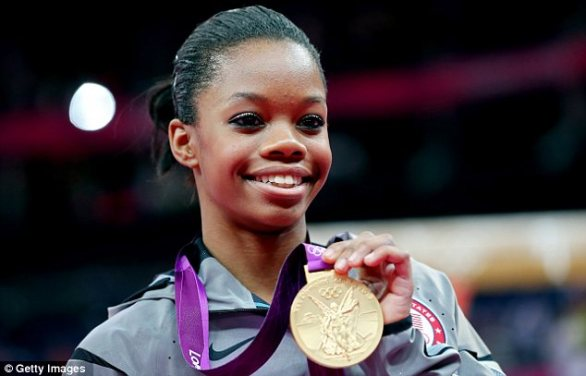 Fame: Gabby Douglas has become an international celebrity after winning Olympic gold twice in London