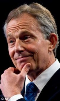 Former British Prime Minister Tony Blair will speak at tomorrow's event