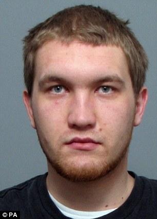 Guilty: Louis Burdett received a life sentence