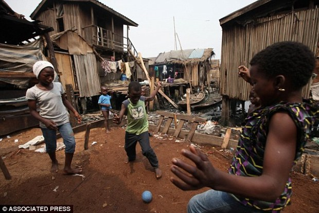 Chaotic: The study found teachers were allowing children were left to play football instead of attending classes. (File picture)