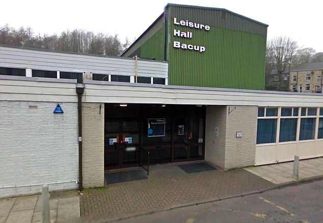 Raided: The owner of this leisure hall in Bacup was left with a £60,000 bill following the burglary