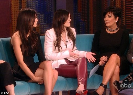 It's the Jenner show! Kendall and Kylie Jenner appeared on The View on Thursday morning while their mother Kris was guest hosting 